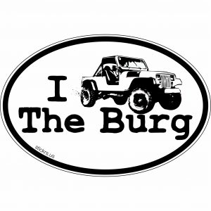 I JEEP THE BURG