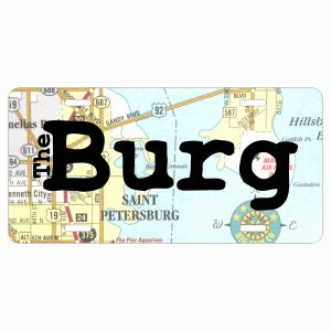 License Plate Map The Burg