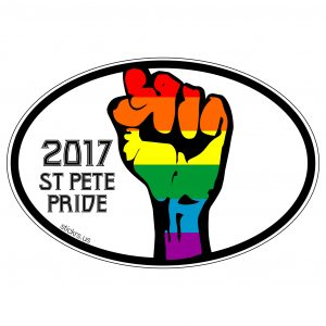 Decal Pride Fist