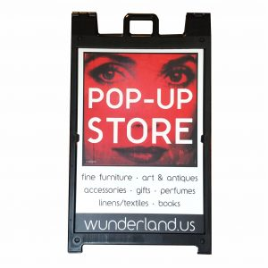 Sign Pop Up Wunderlust